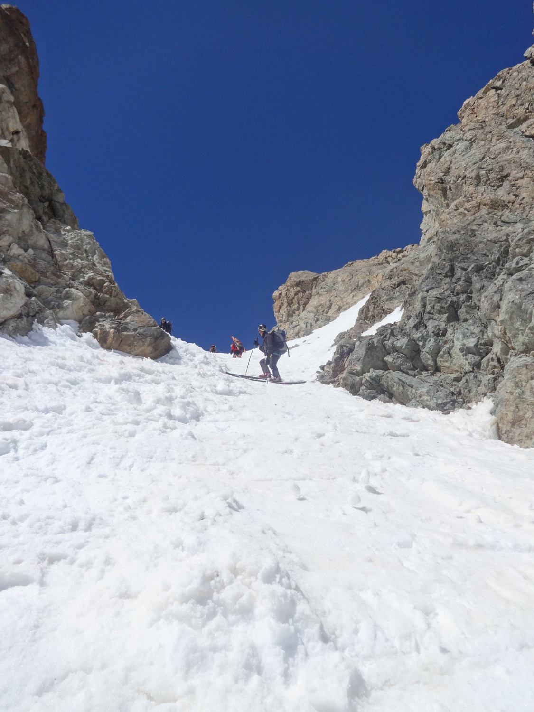 J2 - descente du col de la Casse Déserte (versant E)
