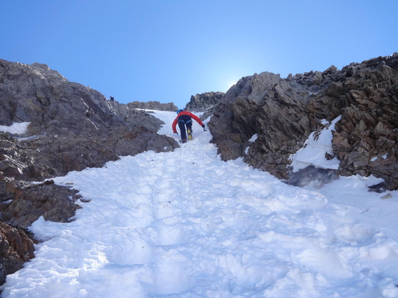J4 - montée finale à Neige Cordier (versant W)