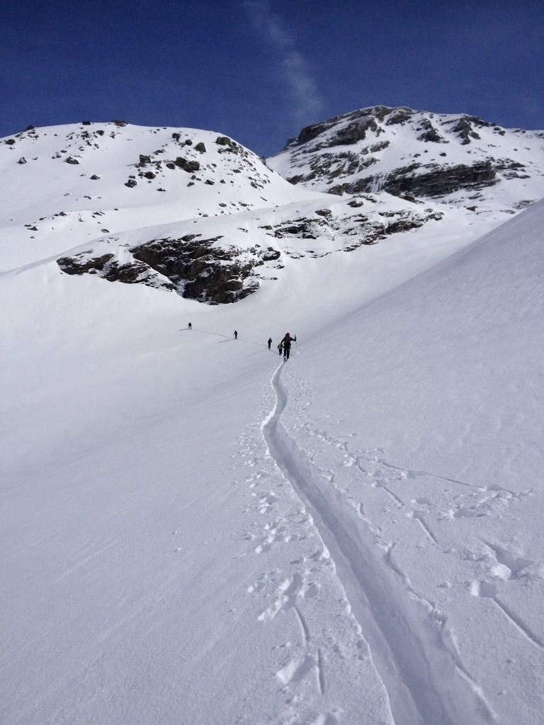 Val Cenis - Albaron - En direction du glacier du Colerin