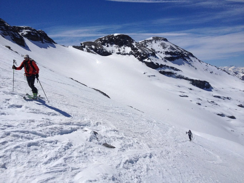 Val Cenis - Pointe de la Ronce - A la montee