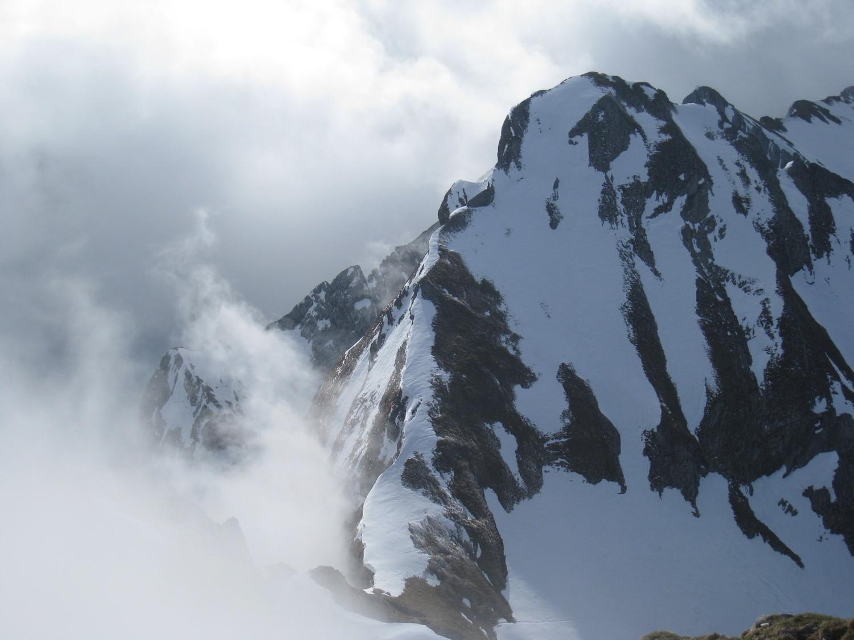 Merdassier -regard vers la Pointe 2356m