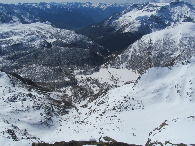 Alpe Devero dalla vetta