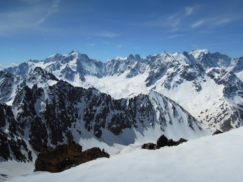 Chouette paysage, du sommet!