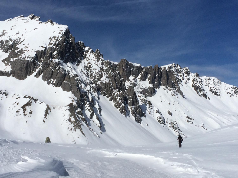 seuls dans la montagne