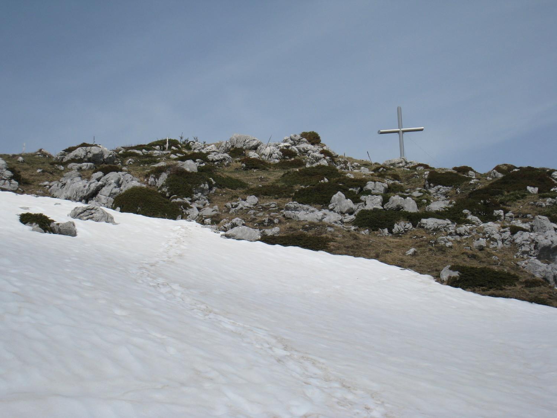 Dent Rossanaz - la Croix
