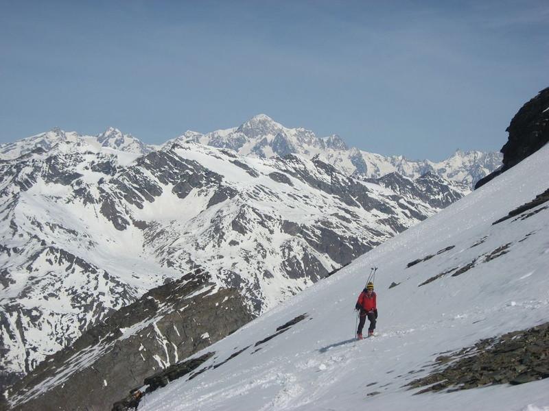 Arrivée au Col de la Grande Rousse