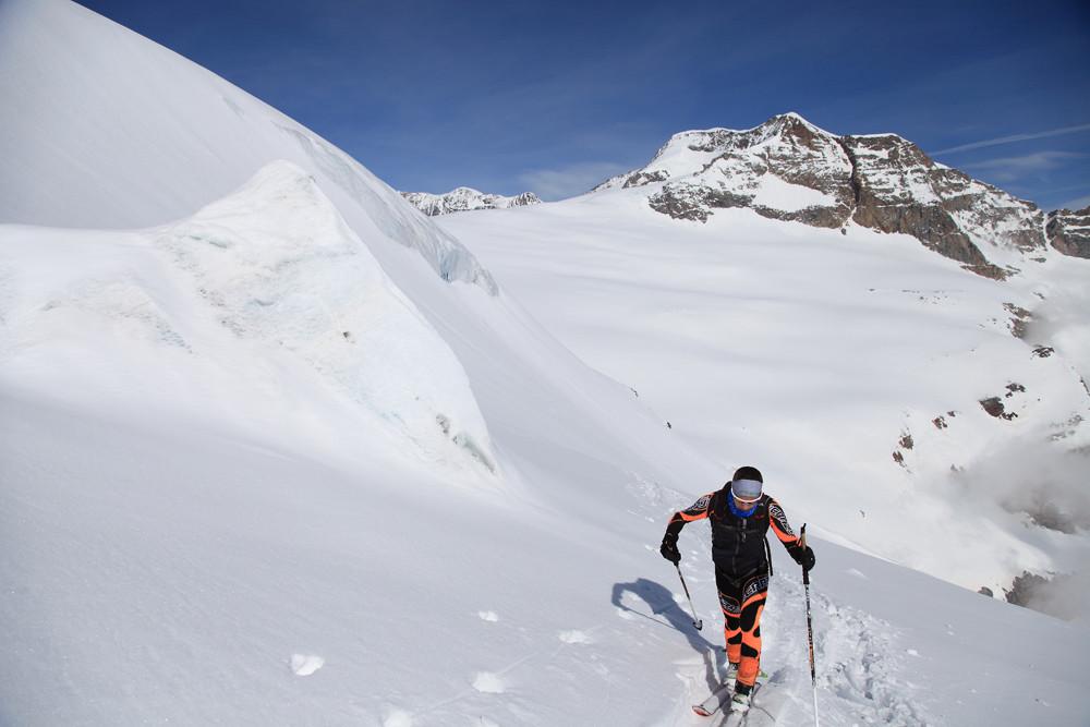Sul ghiacciaio sotto il Palù
