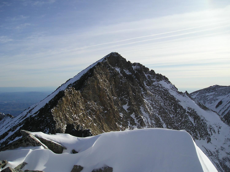 Canigou cepuis le sommet du Quazemi