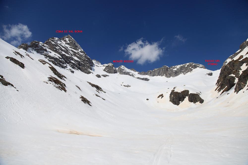 Cima di Val Bona & Monte Rosso