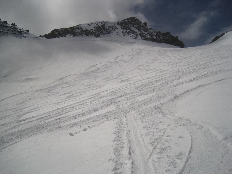 Pointe Brevoort et Glacier supérieur des Agneaux