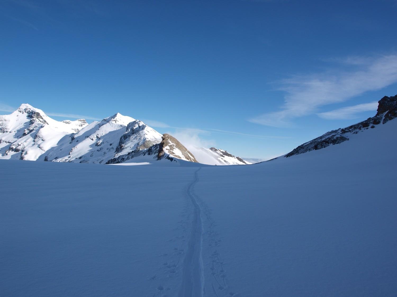 Glacier du Giétro, Luette (3'548m), Pleureur (3'704m)