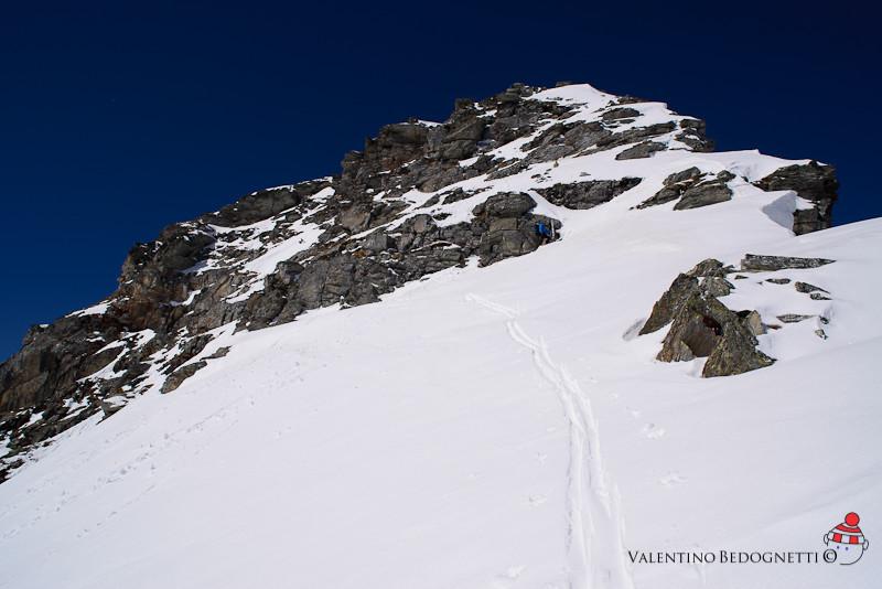 p.Quadro la breve parte Alpinistica