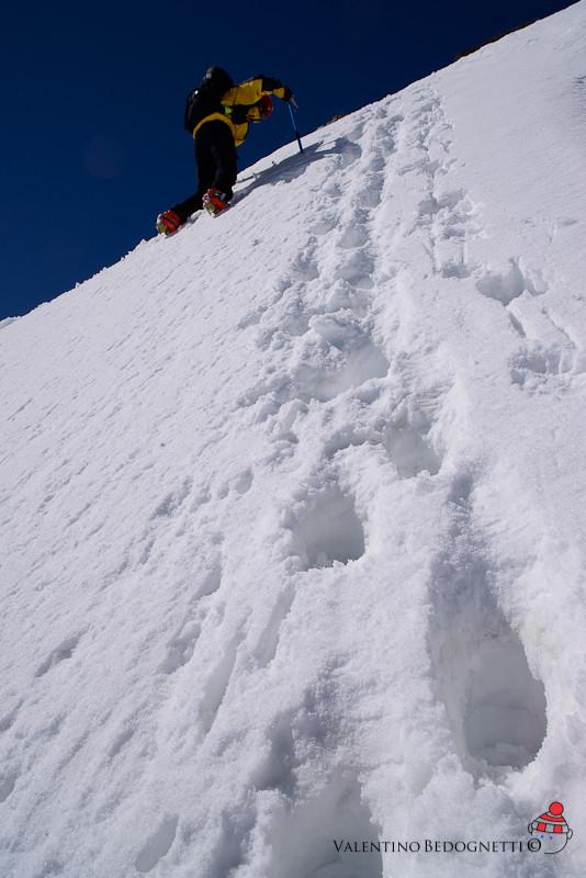 jack in discesa alpinistica
