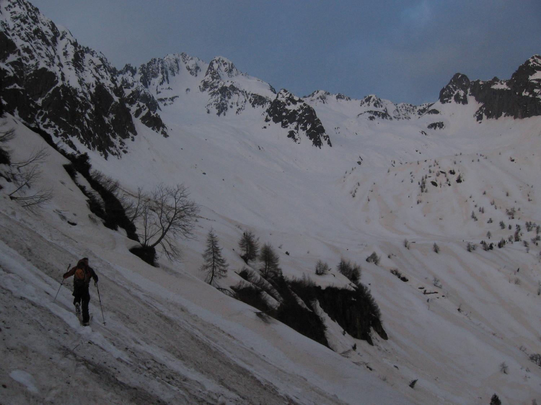 Traverso dal Rifugio Petit-Pierre alla Conca di Pozzuolo