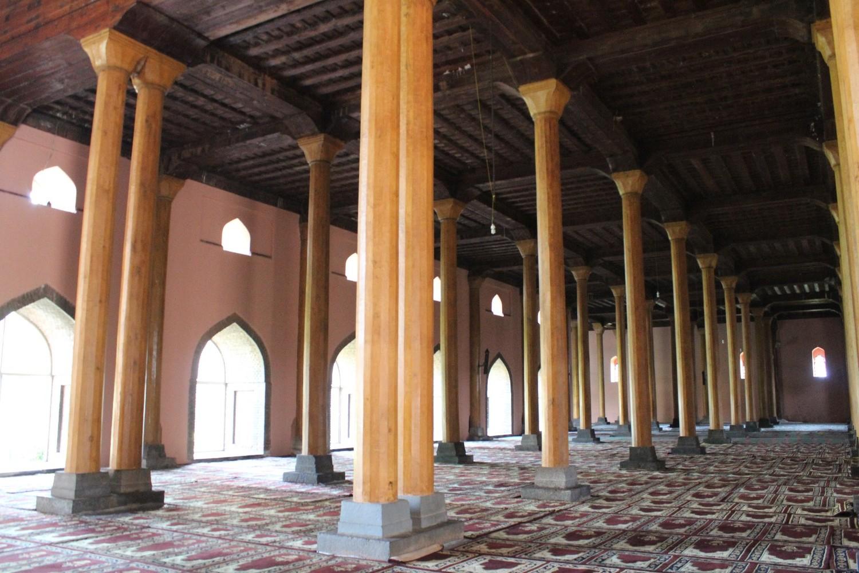 La mosquée de Srinagar