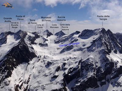 Vallon du glacier de  Sengie