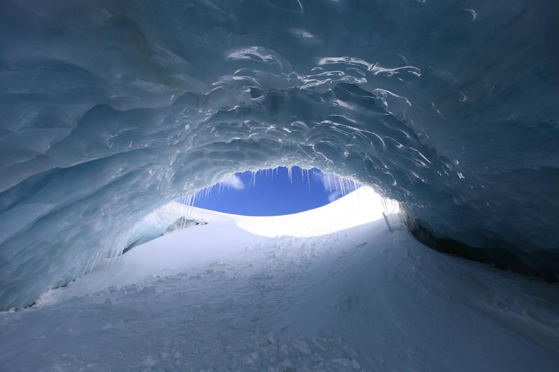 Nel tunnel glaciale