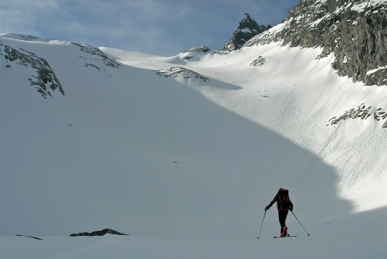 C. di Camadra; prima di affrontare i ghiacciai...