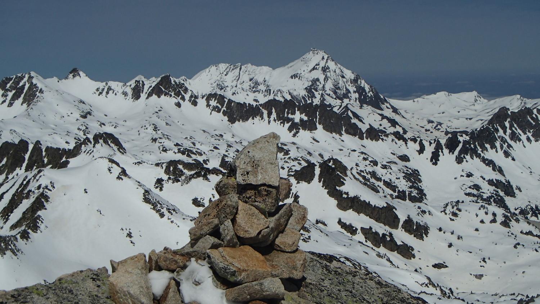 Pic du Midi depuis Portarras