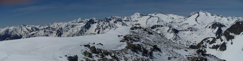 Panorama depuis le Portarras