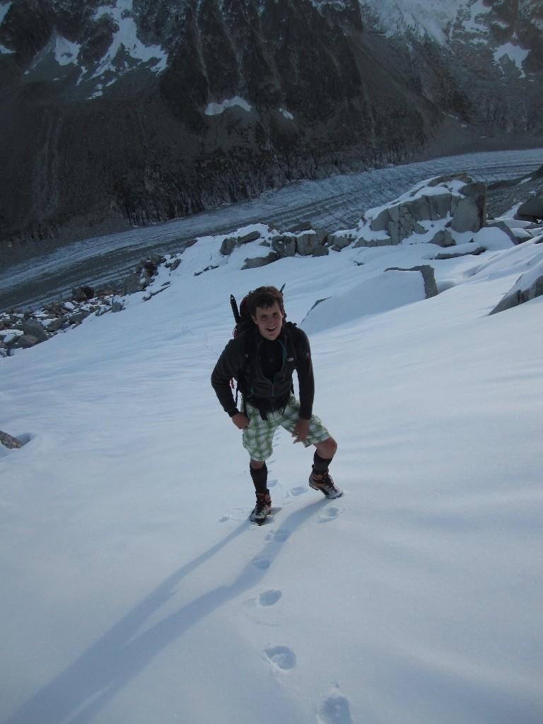 On rejoint la neige