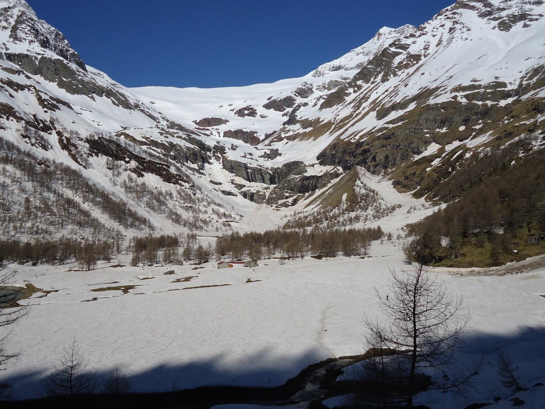 Piz Varuna: La discesa dall'Alp Grum verso il lago Palù