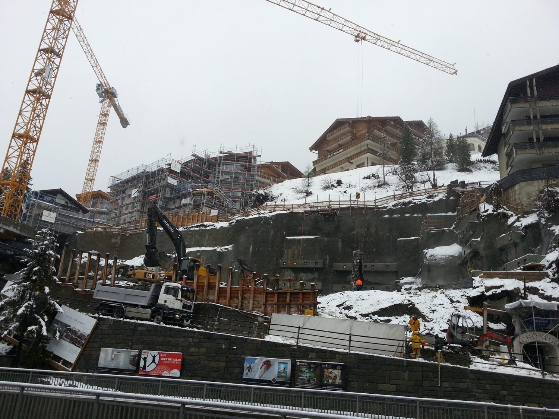 Programme d'occupation à Zermatt