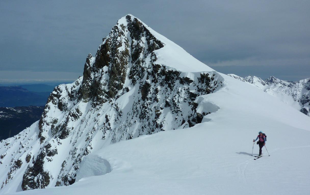 Rocher Badon depuis le Col du Rocher Blanc