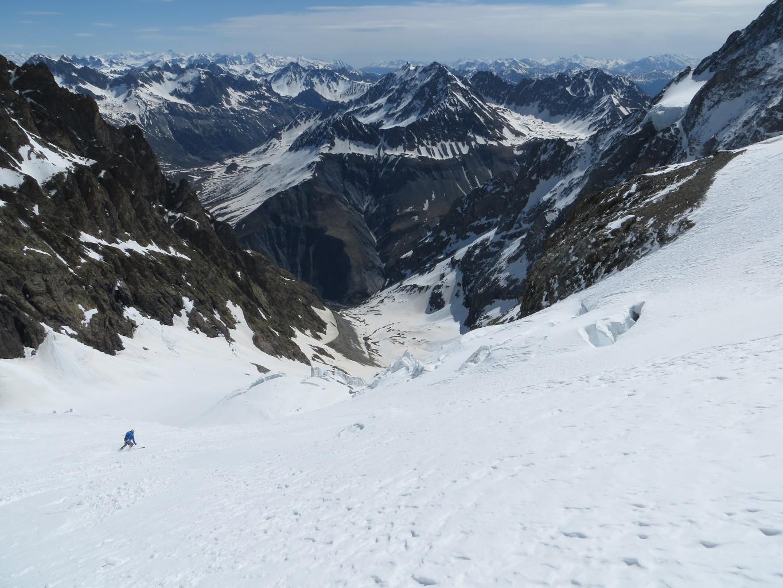 J3 descente glacier de l'homme