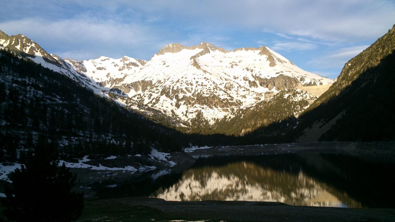 Départ du lac d'Orédon