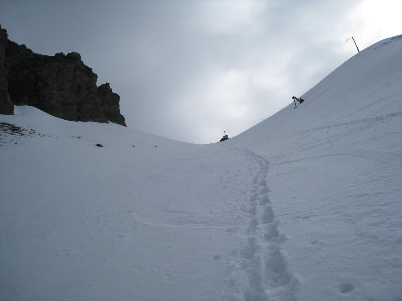 ma trace à la descente - gde Balmaz
