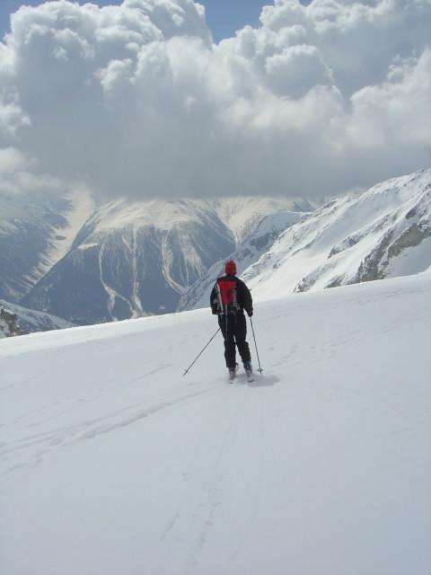La longue descente du Bächital