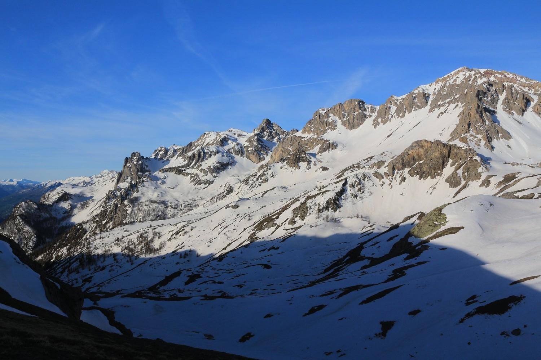 Du Col de la Trancoulette, vers la Tête des Lauzières et de Montbrison