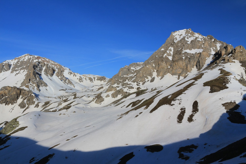 Tête des Lauzières, Col de Vallouise, et Rocher Bouchard