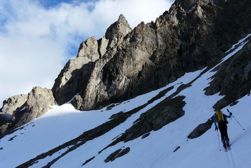 "Raidillon avant le ""glacier"" de Surette"
