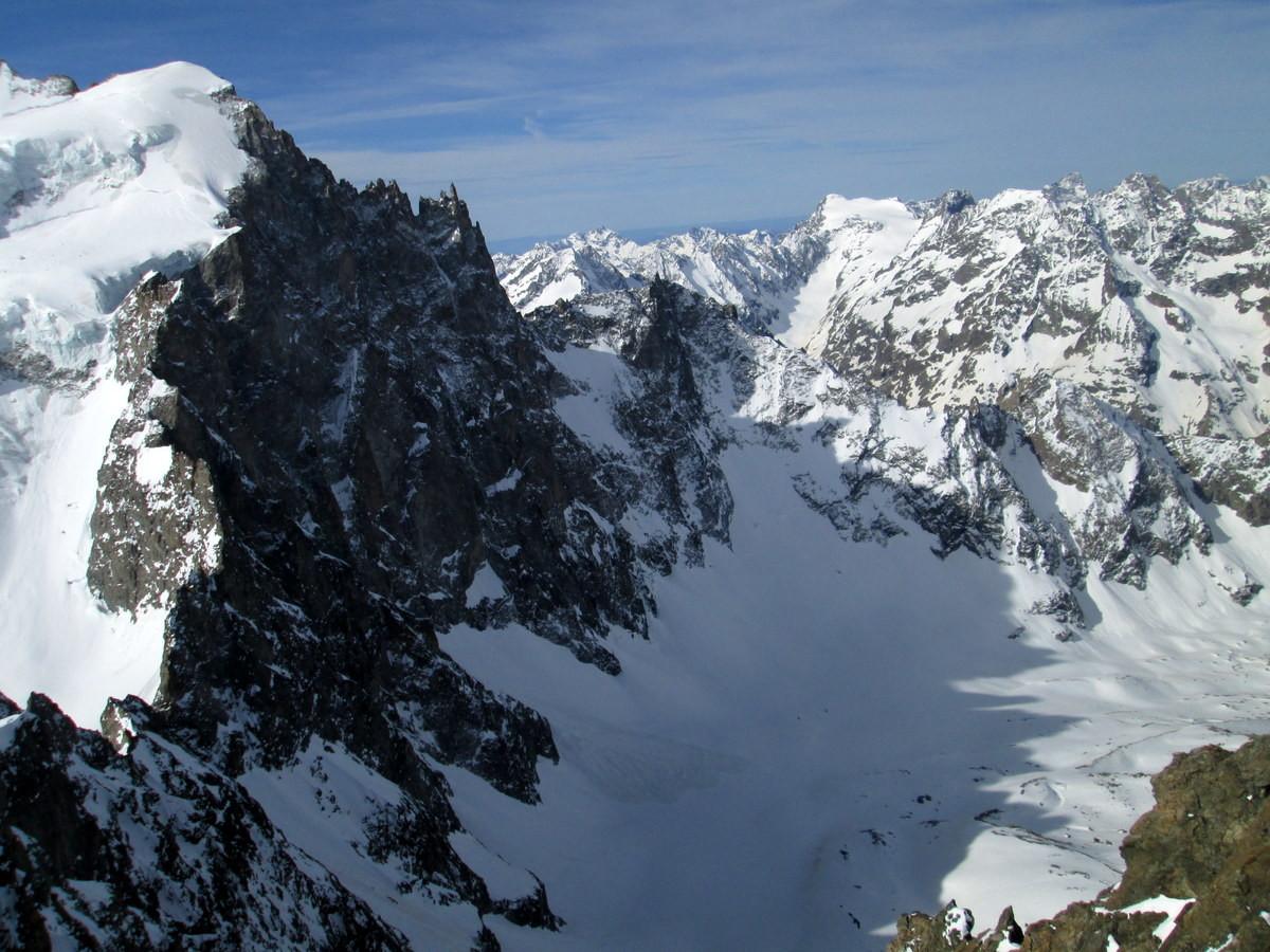 Du sommet de Roche Faurio