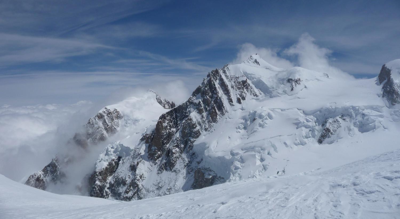 J2 - Mont Blanc du Tacul, Mont Maudit et Col de la Brenva