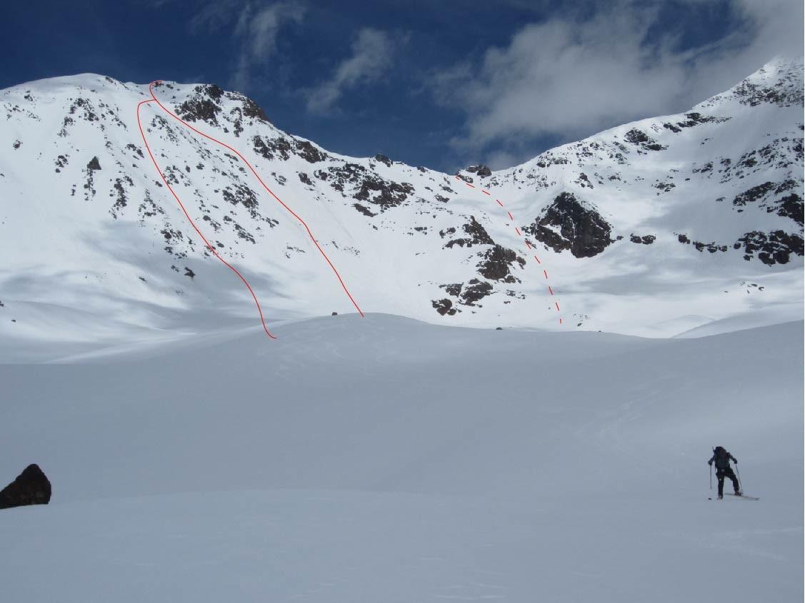 Pendici SW del Monte Pasquale e punteggiavano il percorso Pasquale cervicale.