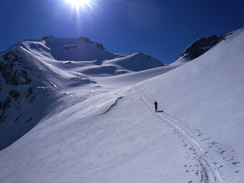 Sous le pied du glacier