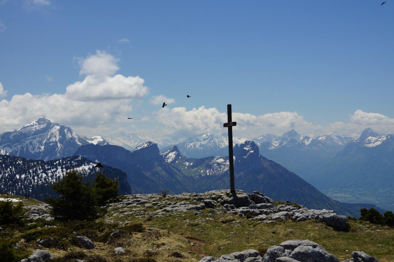 Cross at the Tete du Parmelan