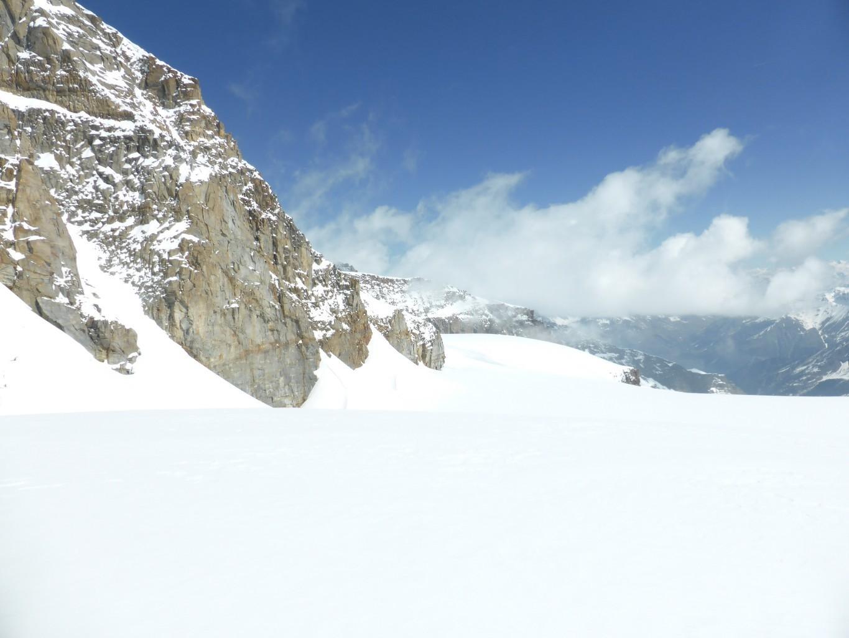 La suite sur le glacier de la Tribulazione