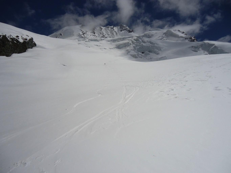 Rimpfischhorn: neve spettacolare
