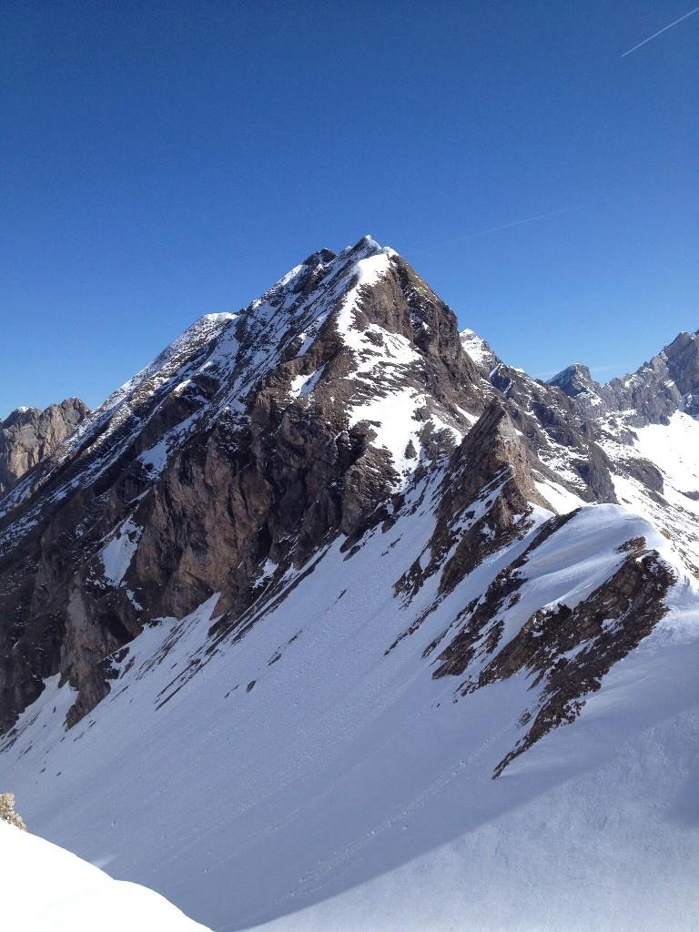 Descente du Mont Fleuri