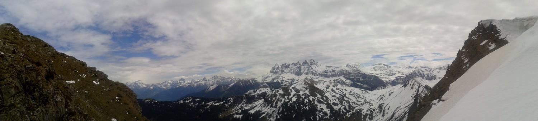 Vue de Vaud du haut de Cornebois