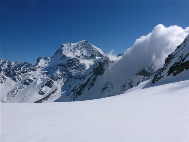 Sul ghiacciaio di Valsorey