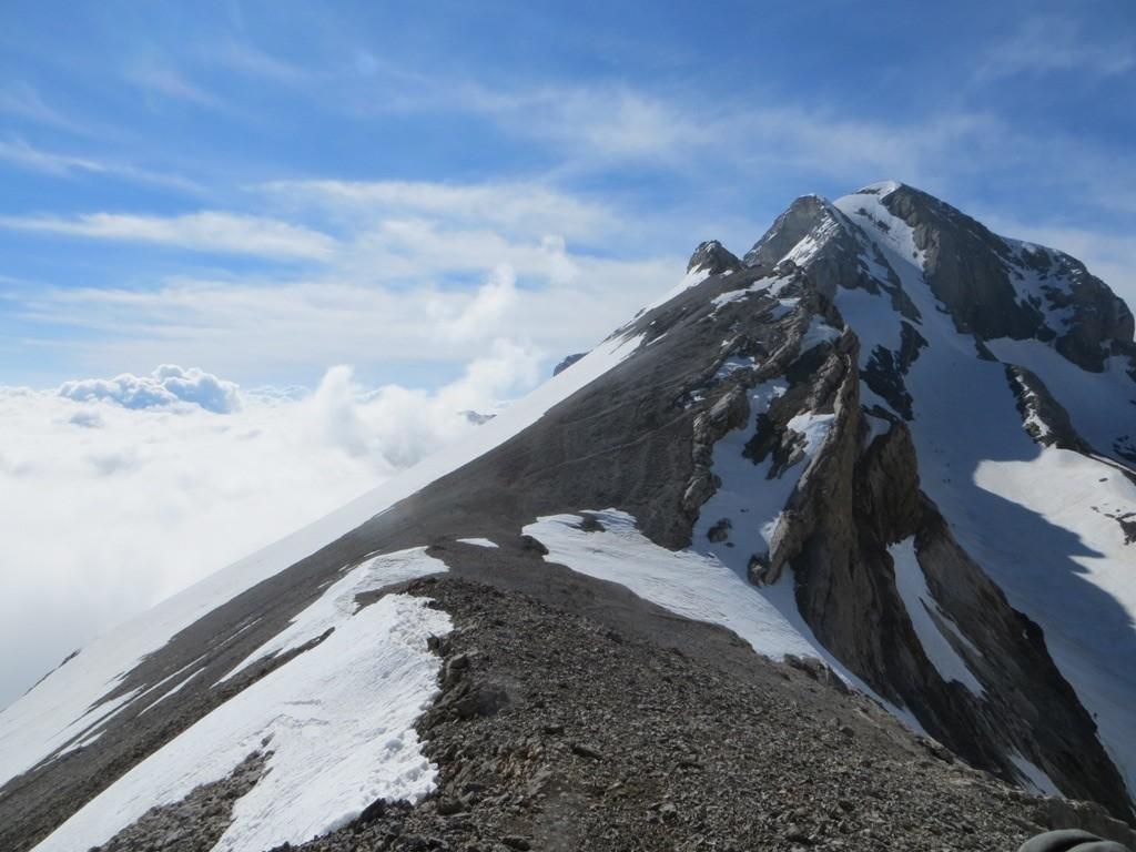 Mont Perdu depuis le col de Cylindre