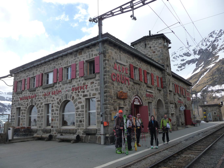 Gare d'Alp Grüm