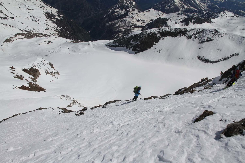 Ludo : Vers la fin de la partie ski