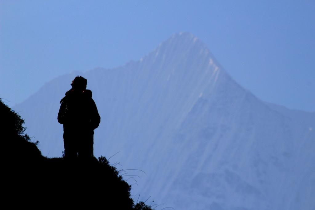 Sommet (?) au sud de la vallée de Langtang