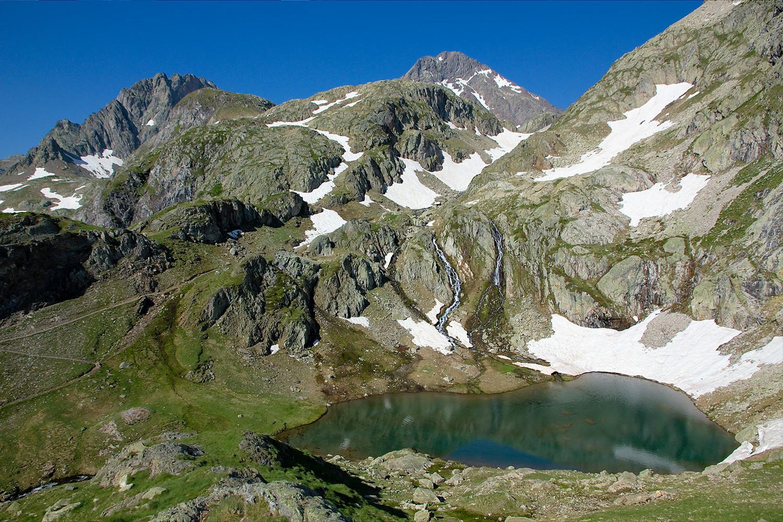 Grande Fache, lac 2291